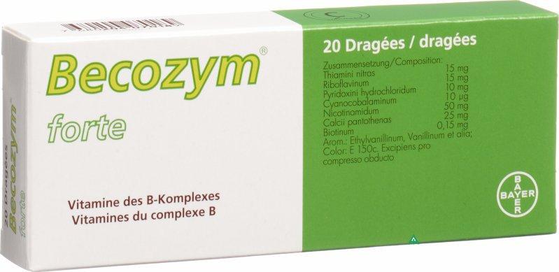 Becozym dosaggio alto 20 compresse da parafarmacia cravero for B b srl milano