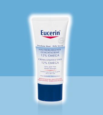 EUCERIN Crema Lenitiva Viso 12% Omega