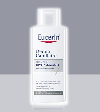 Shampoo per capelli diradati