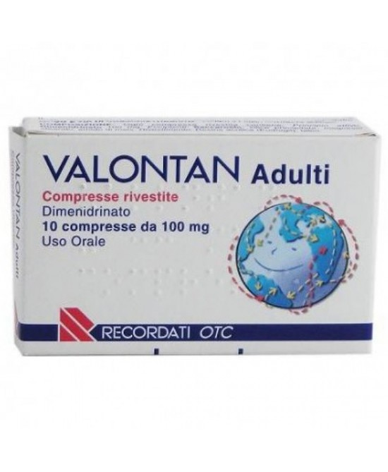 Valontan Adulti 10 compresse rivestite