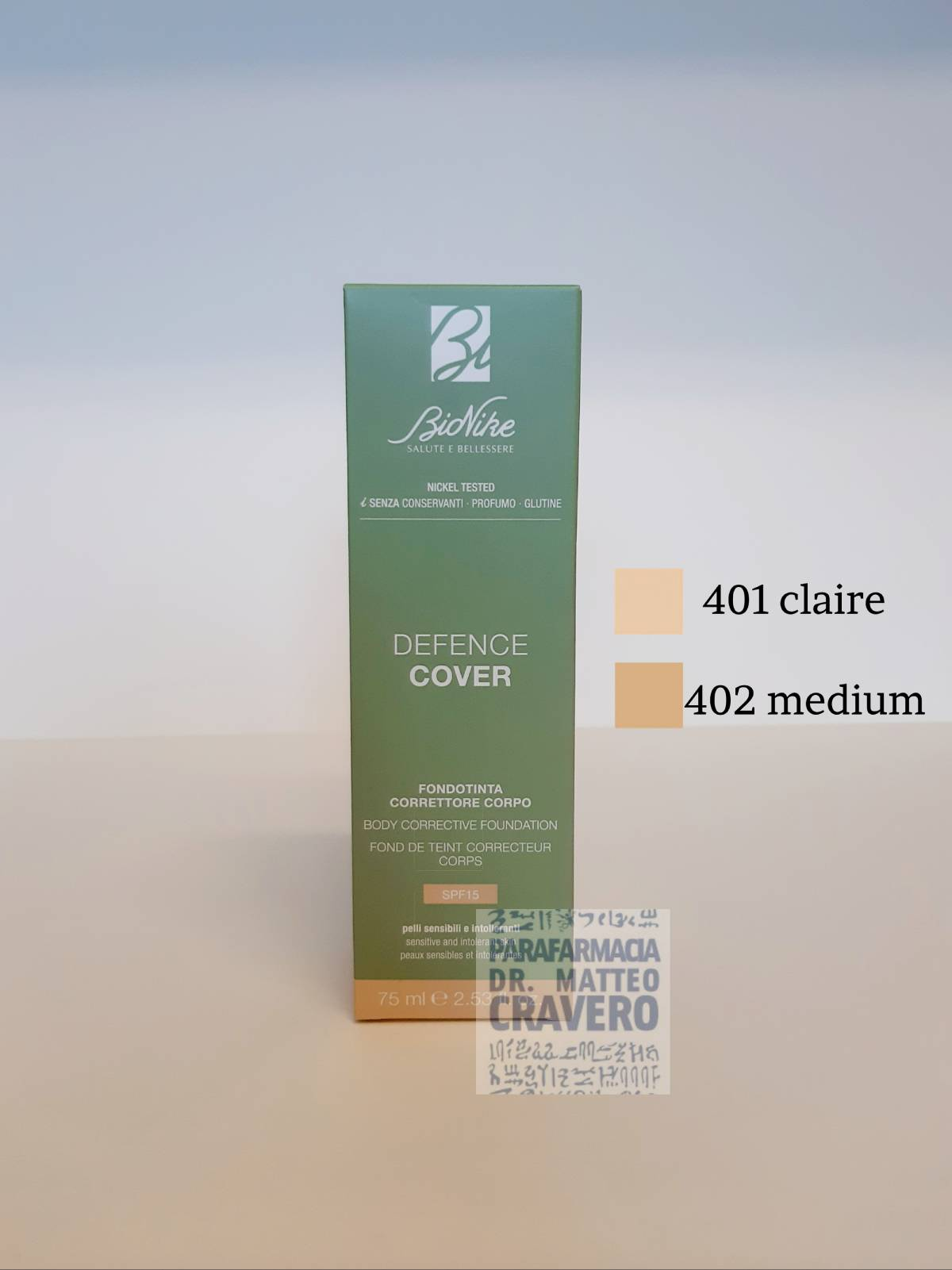 Defence Cover Correttore Corpo 402 Medium