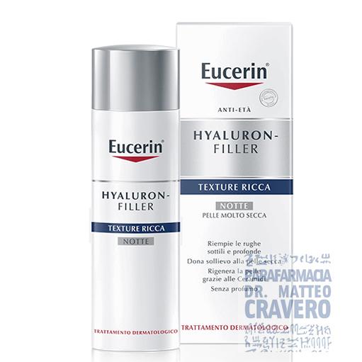 Eucerin Hyaluron Filler Crema Antirughe Notte € 26,00..
