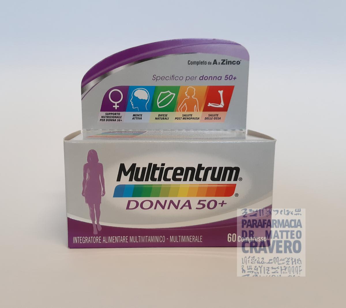 Multicentrum Donna 50 60 Compresse 26 32 Prezzo Parafarmacia Cravero