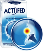 ACTIFED 12 Compresse 2,5MG+60MG