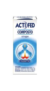 ACTIFED COMPOSTO Sciroppo 100ML