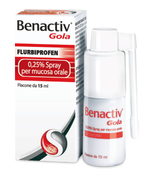 BENACTIV GOLA Spray 15ml 25%