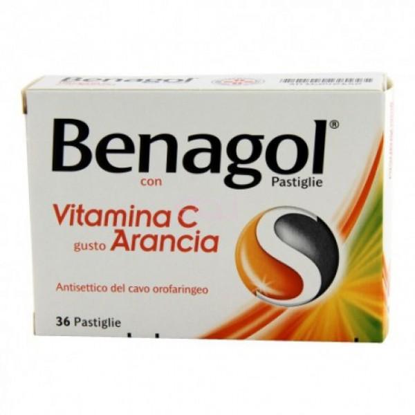 BENAGOL Vitamina C 36 pastiglie arancia