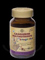 Cangurini Multinutrients frutti di bosco 60 tavolette