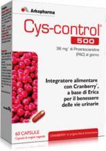Cys Control 500 - 60 capsule