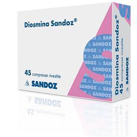 DIOSMINA SANDOZ 45 compresse