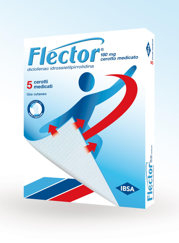 FLECTOR 5 Cerotti Medicati 180mg
