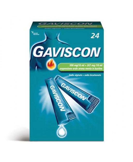 GAVISCON 24 Bustine 500+267mg