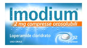 IMODIUM Compresse OROSOLUBILI 2mg