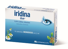 IRIDINA DUE Collirio 10 Flaconi 0,5ml