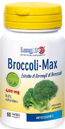 LONGLIFE BROCCOLI MAX 60 Compresse