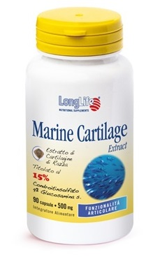 LONGLIFE Marine Cartilage 90 Compresse