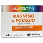 MASSIGEN Magnesio Potassio Senza Zucchero 24 Buste