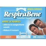 RESPIRABENE Cerotto Nasale Trasparente 30
