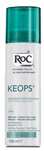 ROC KEOPS Deo Spray Fresco 100ml