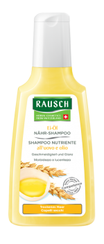 Rausch Shampoo Lucidante all'uovo e Olio