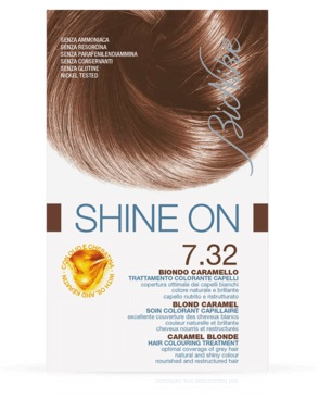 SHINE ON Capelli BIONDO CARAMELLO 7.32
