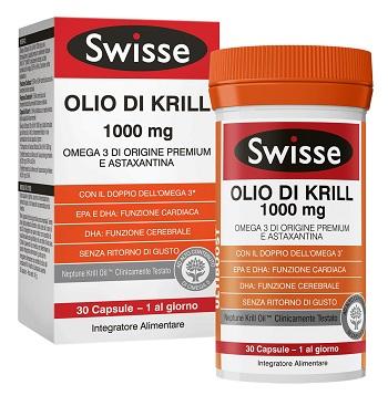 SWISSE OLIO KRILL 30 capsule