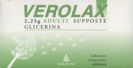 VEROLAX Adulti 18 supposte 2,25G