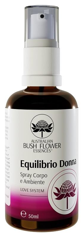 Australian Bush Flower Essence  Equilibrio Donna spray