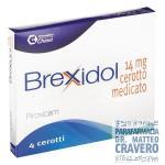 BREXIDOL 4 CEROTTI 14MG