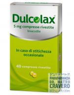 DULCOLAX 40 Compresse 5 mg