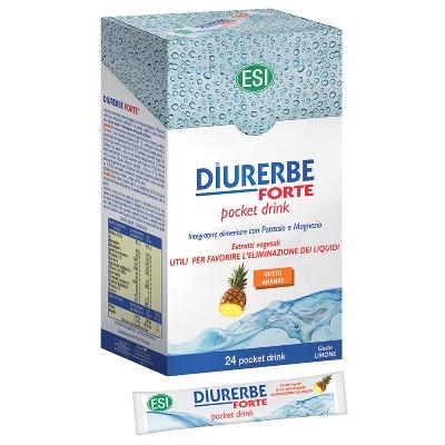 Diurerbe Forte 24 Pocket Drink Ananas