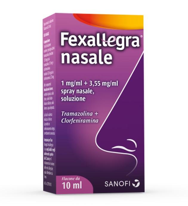 FEXALLEGRA NASALE SPRAY FLACONE10ML