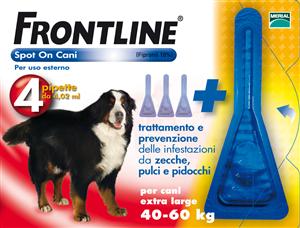 FRONTLINE SPOTON 4 PIPETTE 4,02ML