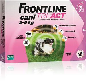 FRONTLINE TRI-ACT 3 PIPETTE 0,5ML