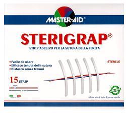 M-AID STERIGRAP cerotti 7,5X0,6 15 pezzi