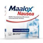 MAALOX NAUSEA 20 COMPRESSE EFFERVESCENTI 5MG