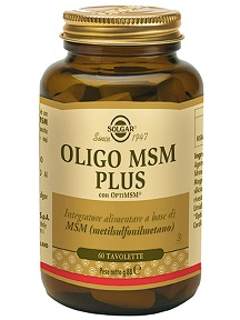 Oligo MSM Plus 60 tavolette
